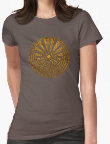 Man in the Maze, Journey through life, I'itoi, Papago Womens Fitted T-Shirt