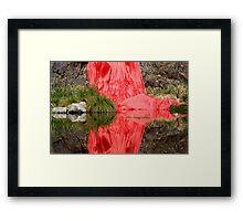 Crimson Tide Framed Print