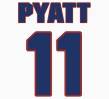 Hockey player Tom Pyatt jerNHLS02236 National Hockey player Dan Quinn jersey 11sey 11 by imsport