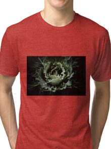 Green heart Tri-blend T-Shirt