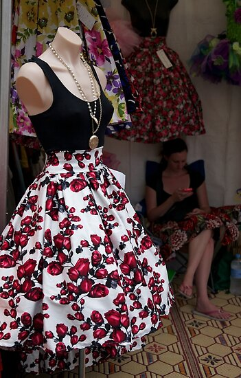skirt of roses by stickelsimages