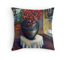 wedding red Throw Pillow