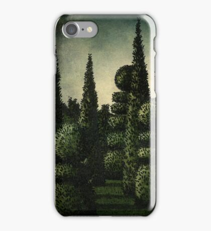 The Secret Moonlit Garden iPhone Case/Skin