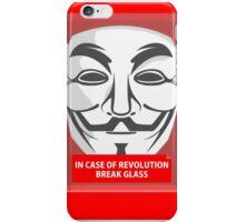 In case of revolution iPhone Case/Skin