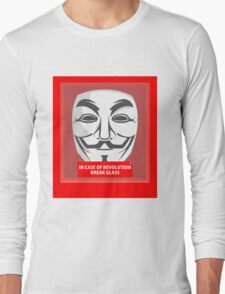 In case of revolution Long Sleeve T-Shirt