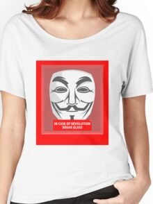 In case of revolution Women's Relaxed Fit T-Shirt