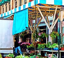 Roanoke VA - Unloading Flower Truck by Susan Savad