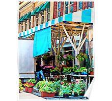 Roanoke VA - Unloading Flower Truck Poster