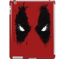 Deadpool eyes  iPad Case/Skin