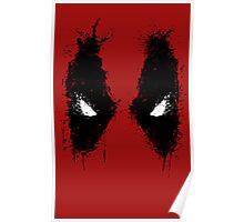 Deadpool eyes  Poster