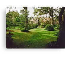 Estate Home and Garden  Canvas Print