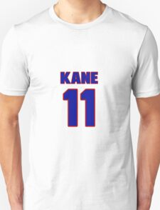 National Hockey player Boyd Kane jersey 11 T-Shirt