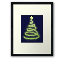 Modern Christmas Tree Framed Print