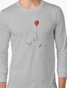 Floaty weenie Long Sleeve T-Shirt