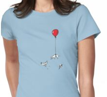 Floaty weenie Womens Fitted T-Shirt