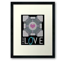 Portal | True Love | Duvet Version Framed Print
