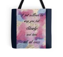 I fell in Love  Tote Bag