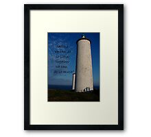 Together we can do so much Framed Print