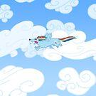 Rainbow dachs by Danelle Malan