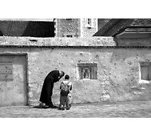 Confession Photographic Print