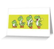 Yoshi Greeting Card