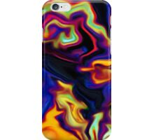 abstract expressionist nature human soul iPhone Case/Skin