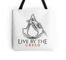 Live By The Creed Tote Bag
