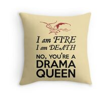[The Hobbit] - Drama Queen Smaug Throw Pillow