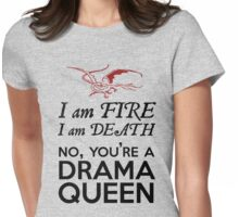 [The Hobbit] - Drama Queen Smaug Womens Fitted T-Shirt