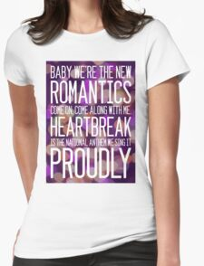 Heartbreak- The National Anthem Womens Fitted T-Shirt