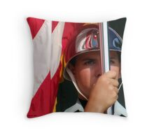 Wrapped in Glory Throw Pillow