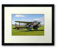 DH.89a Dragon Rapide G-AGJG Framed Print