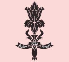 Baker Street flower Kids Clothes