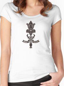 Baker Street flower Women's Fitted Scoop T-Shirt