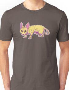 yellow sphynx Unisex T-Shirt