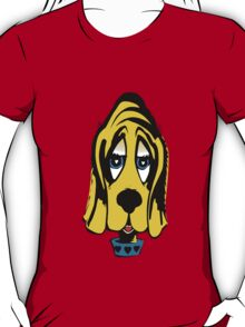 Fifties Style Cute Bloodhound T-Shirt