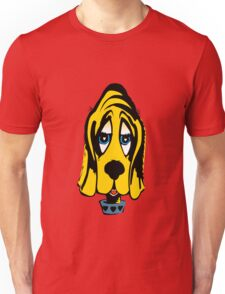 Fifties Style Cute Bloodhound Unisex T-Shirt