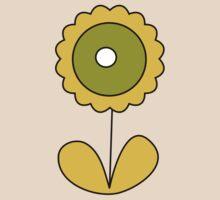 sixties flower by Danielle Kerese