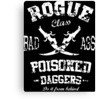Rogue Class Canvas Print