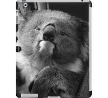 Koala 1 B&W iPad Case/Skin