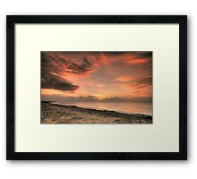Magenta Beach Sunrise - Magenta, NSW Framed Print
