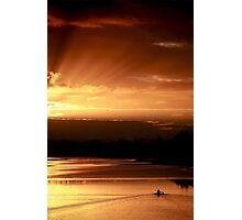 Golden Dawn - Windsor, NSW Photographic Print