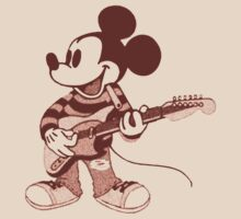 Grunge Mickey by obscured