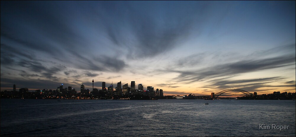 Sydney Sunset by Kim Roper