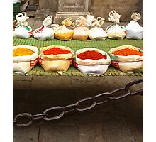 colorful spices Photographic Print