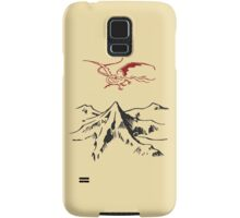 [The Hobbit] - Lonely Mountain (Light) Samsung Galaxy Case/Skin