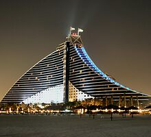 Jumeirah Beach Hotel by dannyb