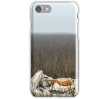 Fiberglass boat long forgotten iPhone Case/Skin