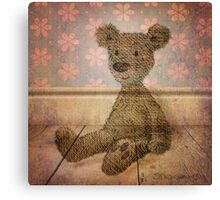 Barely There Bear Canvas Print
