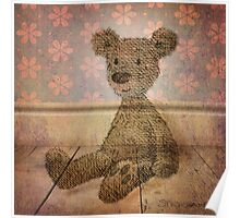 Barely There Bear Poster